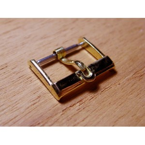 Omega solid 18K yellow gold 16mm buckle (square model)