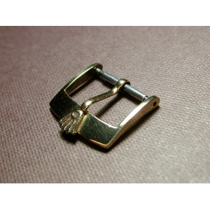 Rolex solid 18K yellow gold 16mm buckle